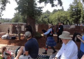 Los Gatos Veterans Memorial Dedication